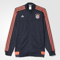 adidas FC Bayern München Herren Champions League Jacke night navy/flash red L