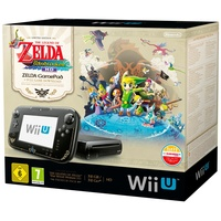 Nintendo Wii U Premium Pack 32GB schwarz + The Legend of Zelda: The Wind Waker HD (Bundle)