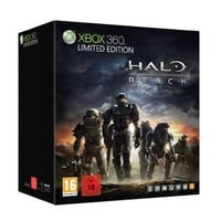 Microsoft Xbox 360 Slim silber + Halo Reach - Limited Edition (Bundle)