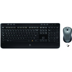 Logitech MK520 Wireless Tastatur Set DE schwarz (920-002554)