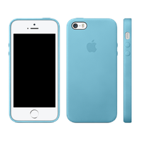 Apple iPhone 5s Case Blau