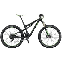 Scott Genius 710 Plus 27,5 Zoll RH 47,5 cm black/green 2016