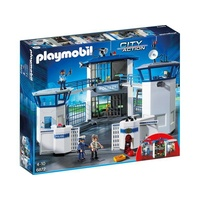 Playmobil City Action Polizei-Kommandozentrale (6872)