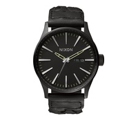 Nixon The Sentry Leather A1051928 Black
