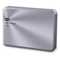 Western Digital My Passport Ultra Metal Edition 2TB USB 3.0 silber (WDBEZW0020BSL-EESN)