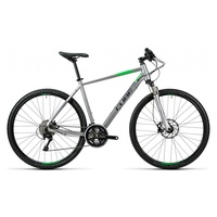 Cube Cross Pro 28 Zoll RH 50 cm silver/grey/green 2016