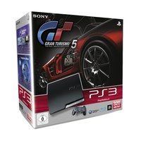 SONY PS3 Slim 320 GB + Gran Turismo 5 (Bundle)