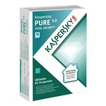 Kaspersky Lab PURE 3.0 3 User Mini-Box DE Win