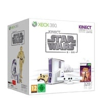 Microsoft Xbox 360 Slim 320 GB + Kinect Sensor + Star Wars (Bundle)