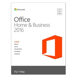 Microsoft Office Home and Business 2016 PKC EN Mac