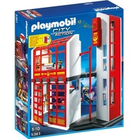 Playmobil City Action Feuerwehrstation mit Alarm (5361)