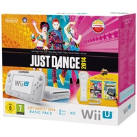 Nintendo Wii U Basic Pack weiß + Just Dance 2014 + Nintendo Land (Bundle)