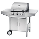 Proficook Gasgrill PC-GG 1057 silber