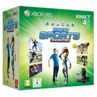 Microsoft Xbox 360 Slim 4 GB + Kinect + Kinect Adventures + Kinect Sports: Season 2 (Bundle)
