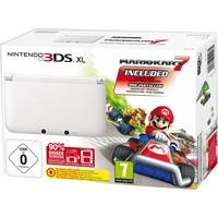 Nintendo 3DS XL weiß + Mario Kart 7 (Bundle)
