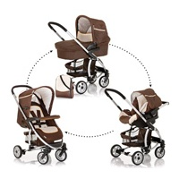 Hauck Malibu All in One Set Brown