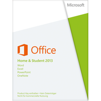 Microsoft Office Home and Student 2013 ESD DE Win