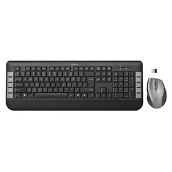 Trust Tecla Wireless Multimedia Keyboard DE (Set) (18042)