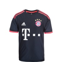adidas FC Bayern München Kinder 3rd Trikot 2015/2016 night navy/flash red Gr. 176