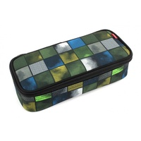 4You Pencil Case Kiwi Squares inkl. Geodreieck