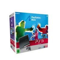 Sony PS3 Slim 320 GB + Move Starter Pack (Bundle)