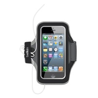 Belkin Slim Fit Armband schwarz für Apple iPhone 5 / 5s