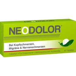 PharmaFGP GmbH Neodolor Tabletten 40 St