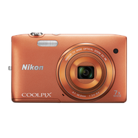 Nikon Coolpix S3500 orange