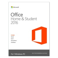 Microsoft Office Home and Student 2016 PKC DE Win