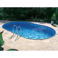 SUMMER FUN Pool Set oval 525 x 320 x 150 cm inkl. SF 133