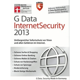 G DATA Internet Security 2013 DE Win