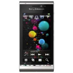 SONY ERICSSON Satio silber