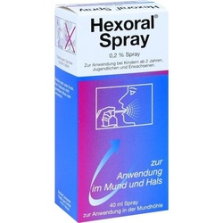 Johnson & Johnson GmbH (OTC) Hexoral Spray 40 ml