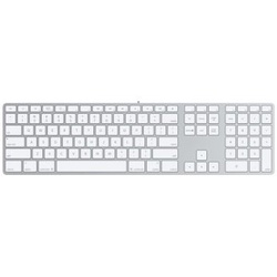 Apple Tastatur mit Ziffernblock FR (MB110F/B)