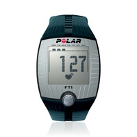 Polar Pulsuhr FT1 black/silver inkl. Brustgurt (90037558)
