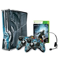 Microsoft Xbox 360 Slim 320 GB grau + Halo 4 (Limited Edition)