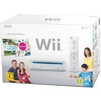 NINTENDO Wii  weiß + Wii Sports + Wii Party (Bundle)