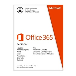 Microsoft Office 365 Personal ESD ML Win Mac