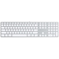 APPLE Keyboard mit numerischer Tastatur UK (MB110B/B)