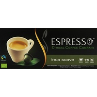 Ethical Coffee Company Espresso Inca Soave 5x10 Kapseln