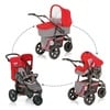Hauck Viper Trio Set Charcoal/Red