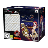 Nintendo New Nintendo 3DS + New Style Boutique 2 + Zierblende (Bundle)