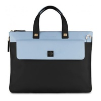 Piquadro Blue Square Briefcase night blue