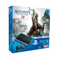 Sony PS3 Super Slim 500 GB + Assassin's Creed III (Bundle)