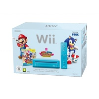 Nintendo Wii + Mario & Sonic at the London 2012 Olympic Games - Limited Edition (Bundle)
