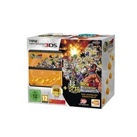 Nintendo New Nintendo 3DS schwarz + Dragon Ball Z: Extreme Butoden (Bundle)