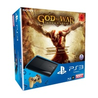 Sony PS3 Super Slim 500 GB + God of War: Ascension - Special Edition (Bundle)