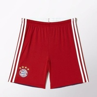 adidas FC Bayern München Kinder Heim Short 2014/2015 fcb true red/collegiate royal/white Gr. 176