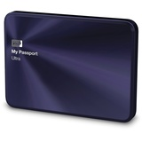 Western Digital My Passport Ultra Metal Edition 1TB USB 3.0 blau/schwarz (WDBTYH0010BBA-EESN)