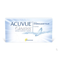 Johnson & Johnson Acuvue Oasys with Hydraclear Plus 6 St.